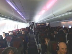 In de vliegtuigmodus